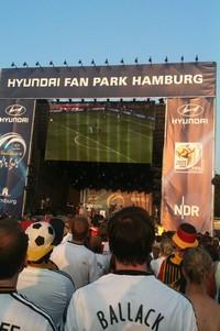 Fan Park Hamburg. Tyskland vinde VM-bronce over Uruguay